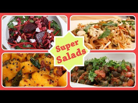 Super salads quick easy to make healthy and nutritious salad super salads quick easy to make healthy and nutritious salad recipes youtube forumfinder Images