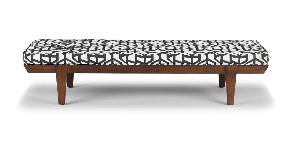 Pin By Nicole Jones On Home In 2020 Mid Century Bedroom Furniture Mid Century Modern Bedroom Furniture Bedroom Bench Modern