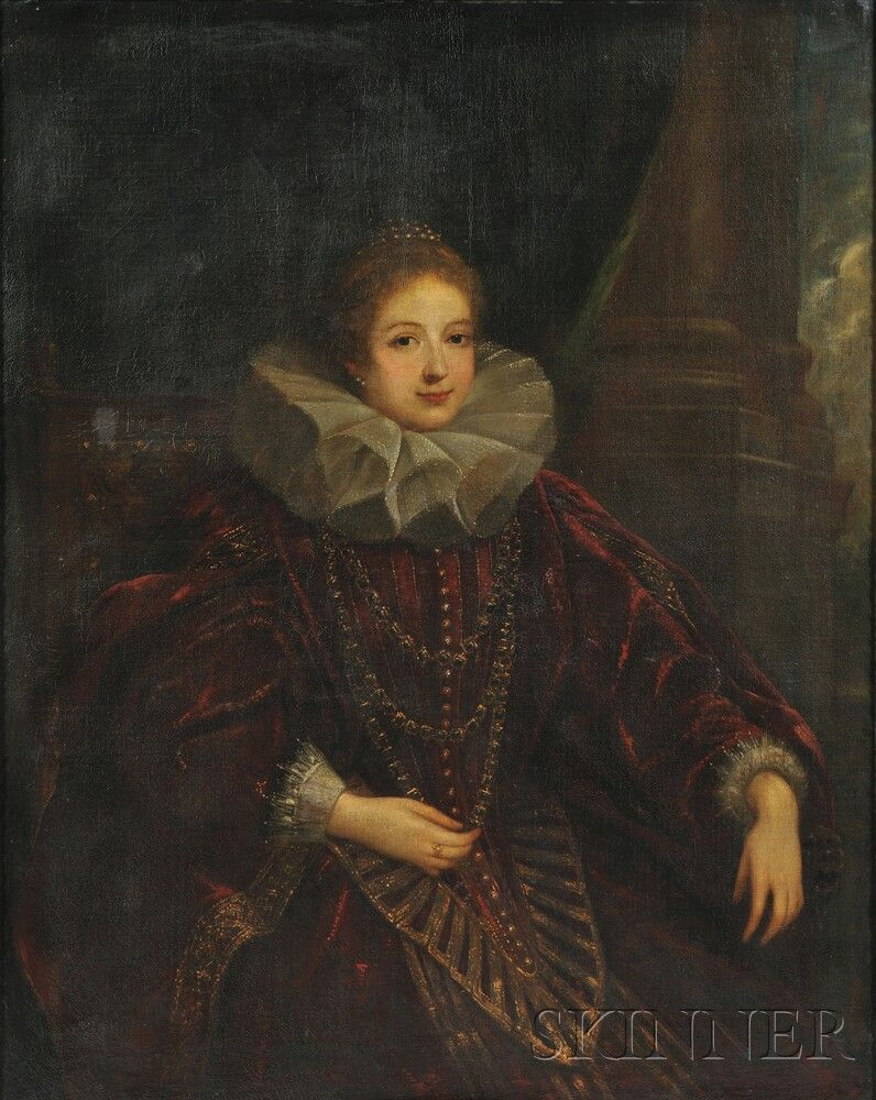 Attributed To Claudio Coello Spanish C 1632 1693 Portrait Of