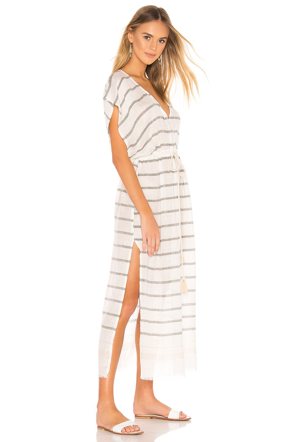 1672fe2415 Michael Stars Tracey Caftan in Natural Black | REVOLVE | Stuff to buy