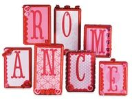 Crafter's Café Romance Blocks #Valentines pinned with Bazaart
