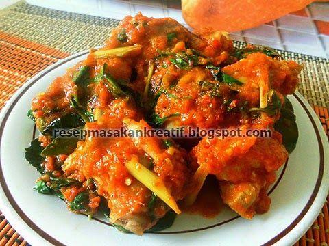Resep Ayam Rica Rica Kemangi Bumbu Pedas Manado Resep Ayam Resep Masakan Indonesia Masakan Indonesia