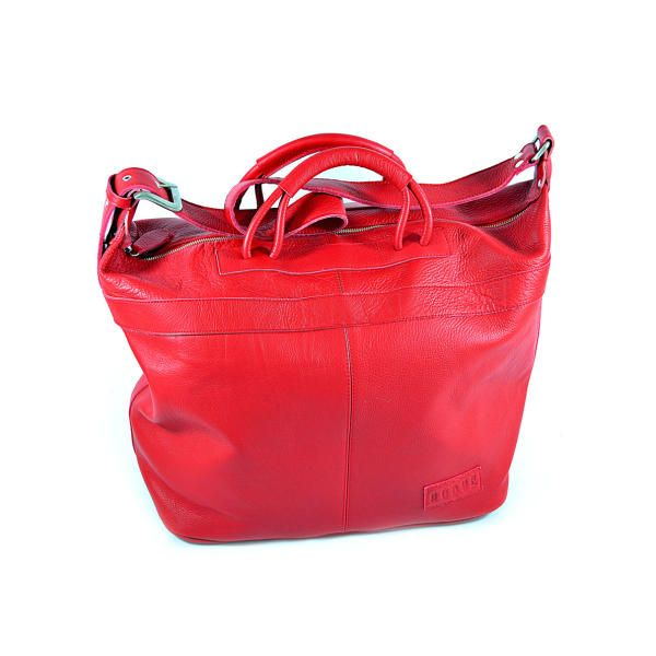 San Telmo/Weekender Shopper Ferrari Red by Roque Bags