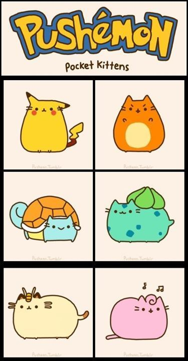 Every Pusheen Crossover You Need in Your Life - Ink Monster