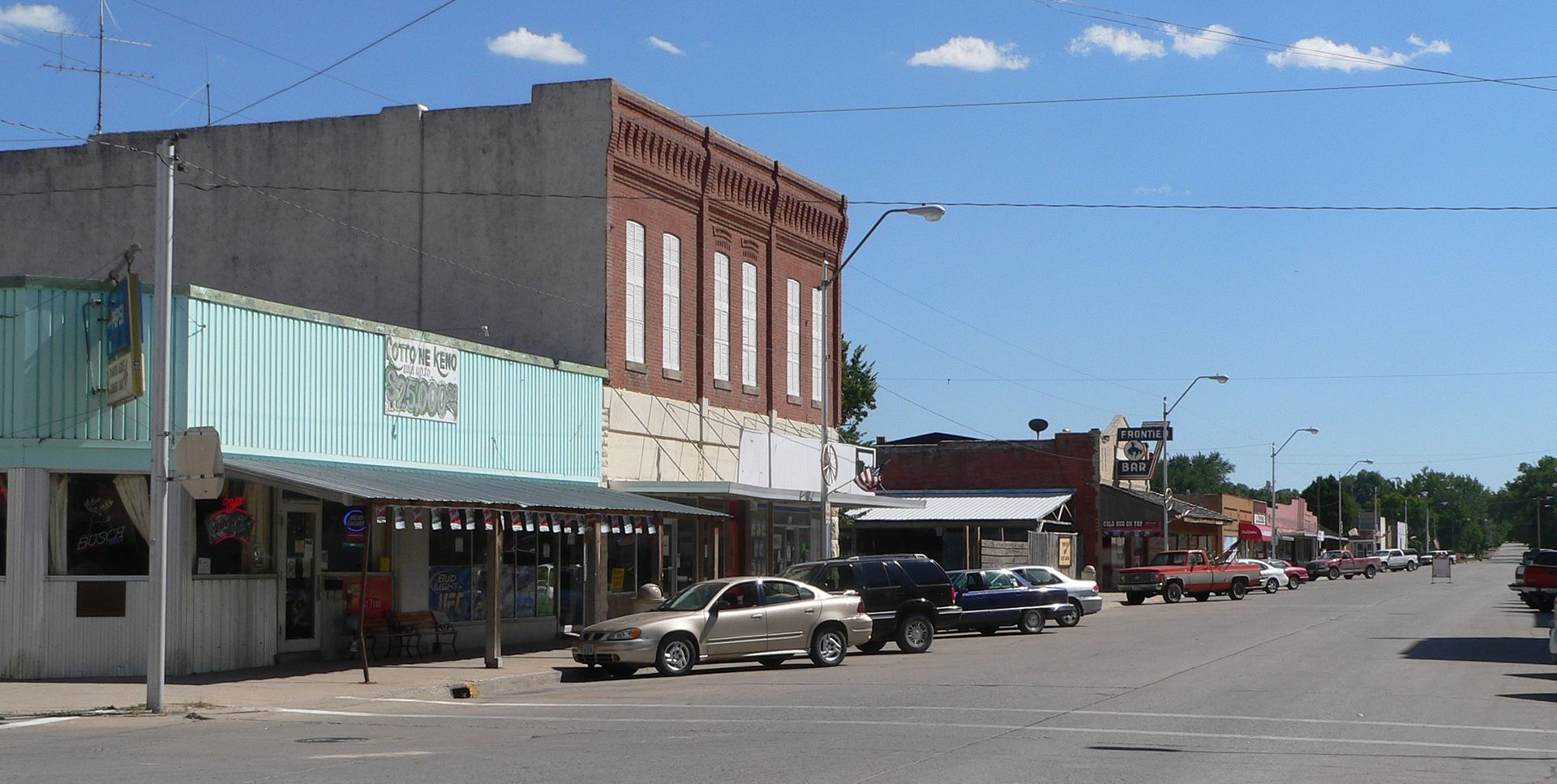 Crawford Nebraska 2nd St From Main Travel Guide At