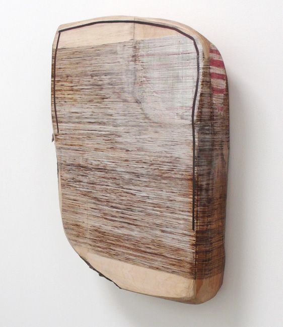 """Eben Goff Sunken Foundation,  mixmedia on birch & alder, 24x33x6"""""""