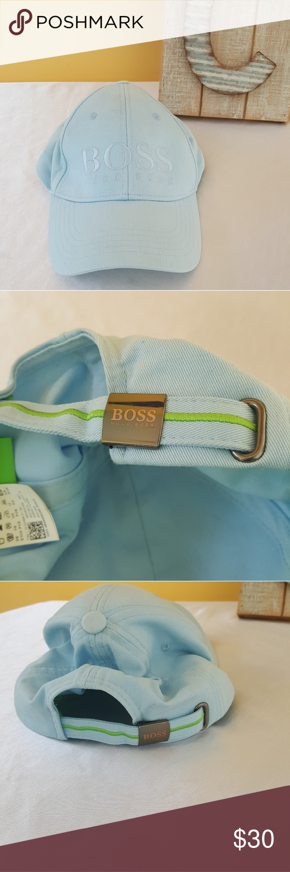 4a311d0b42d Authentic Hugo Boss Hat Very good condition. Light blue color. Hugo Boss  Accessories Hats