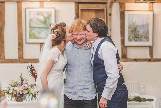 Ed Sheeran Updates Ed Sheeran Summer Wedding Outdoor Creative Wedding Photography