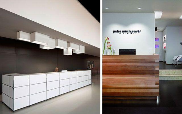 Diseno oficinas mostradores recepcion 37 dise os peluquer as pinterest oficinas - Disenos de mostradores ...