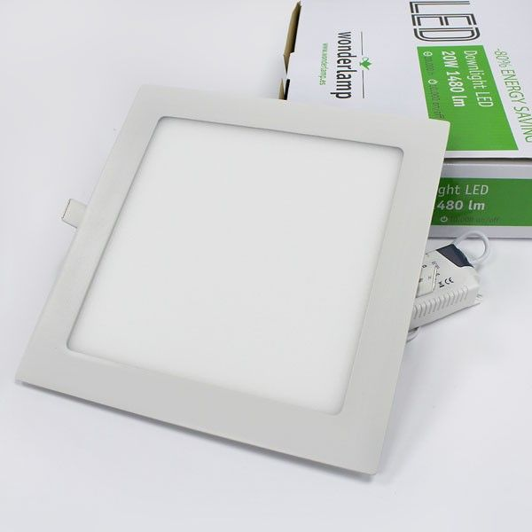– Extraplano Downlight 4000K LED Wonderlamp 20W – – N08vwnm