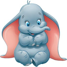It's just a graphic of Old Fashioned Pictures of Dumbo the Elephant