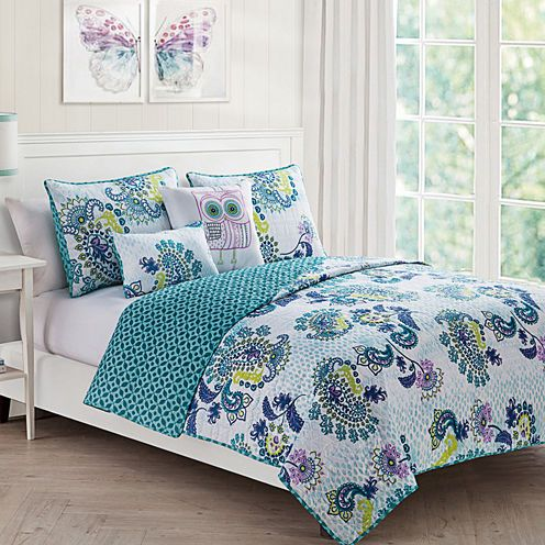 Buy Victoria Classics Samantha Paisley Quilt Set Today At