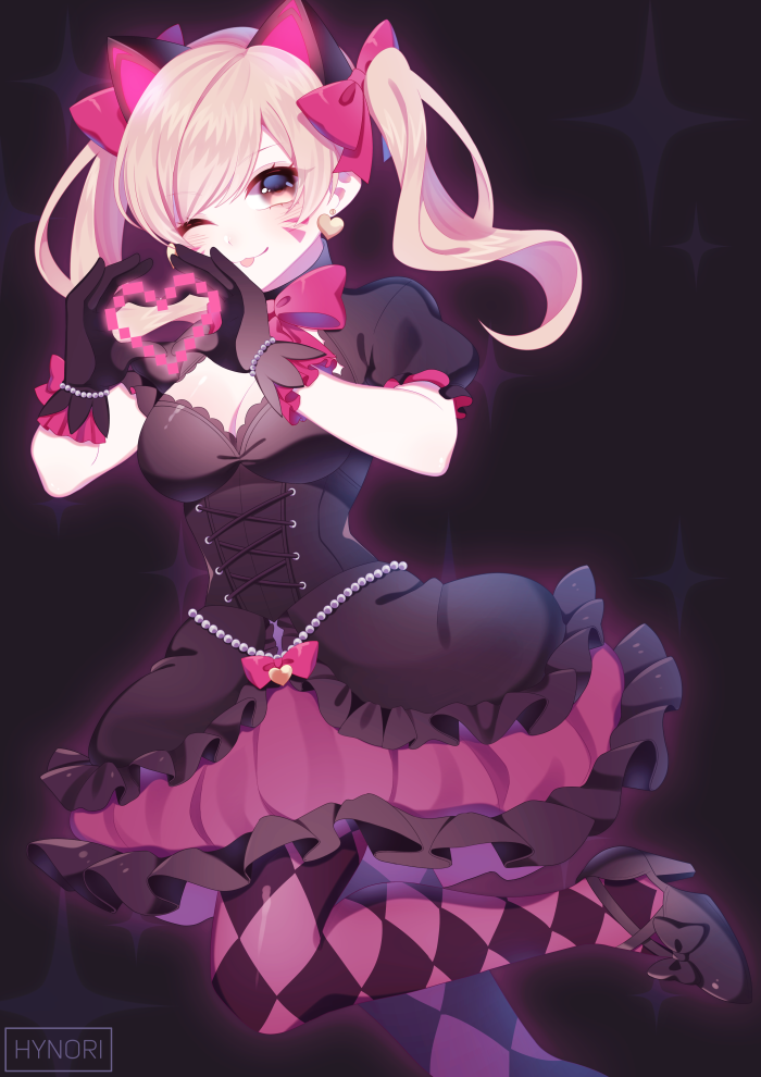 Black Cat D Va By Https Www Deviantart Com Hynorin On Deviantart Overwatch Wallpapers Overwatch Fan Art Anime