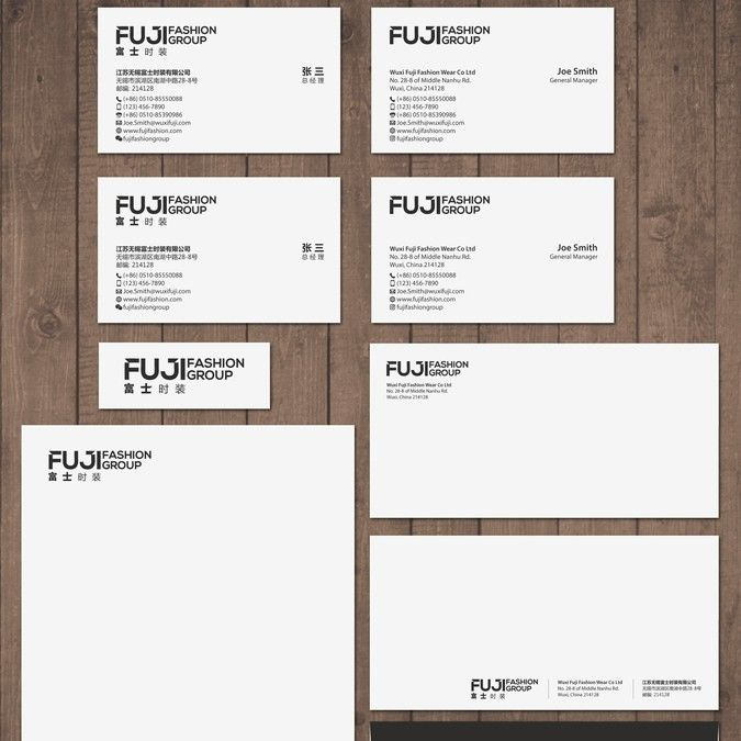 Create a business card letterhead and envelope for a fashion create a business card letterhead and envelope for a fashion company by tcmenk colourmoves Images