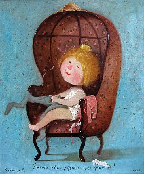 Some girls are just born princesses by Gapchinska