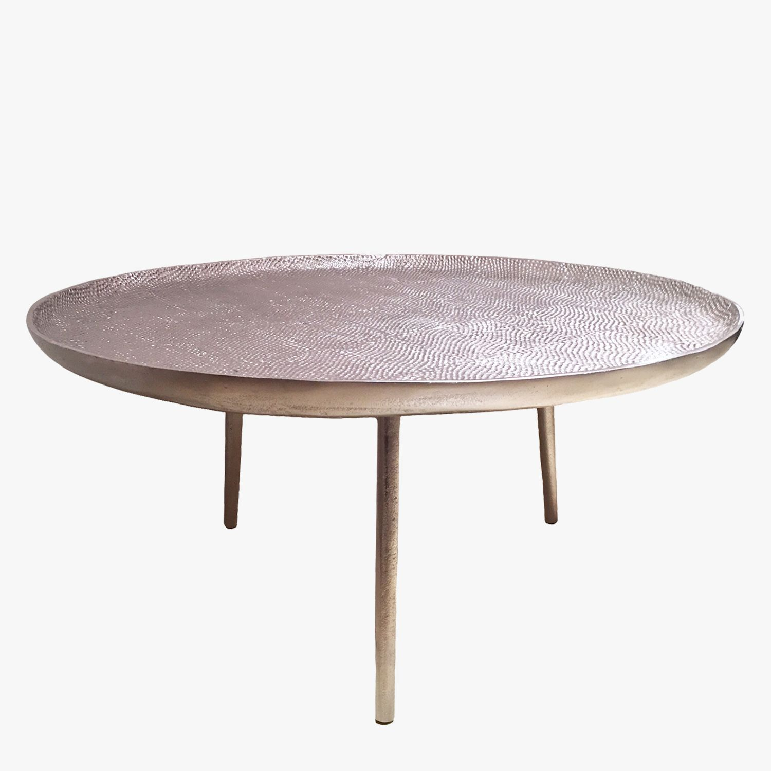 Our Lake Pewter Cocktail Table From Selamat Designs Lends A Global Chic Vibe To Any Space This Striking Round Cocktail Tables Coffee Table Cool Coffee Tables [ 1500 x 1500 Pixel ]