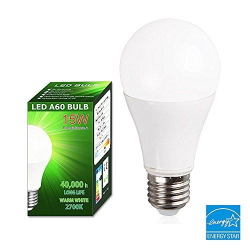 15w Led Light Bulbs E26 100w Incandescent Bulb Equivalent Soft White 2700k 1500 Lumens Wide Beam Angle 260 Degrees Eco Led Light Bulbs Bulb Light Bulbs