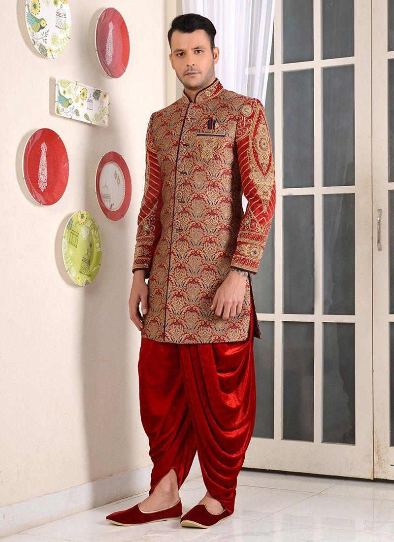 Designer Wedding Sherwani 2018