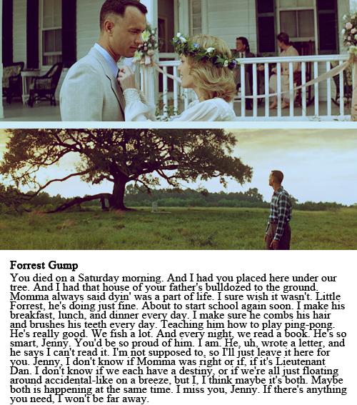 Forrest Gump Shrimp Quotes: Forrest Gump, Destiny And Movie