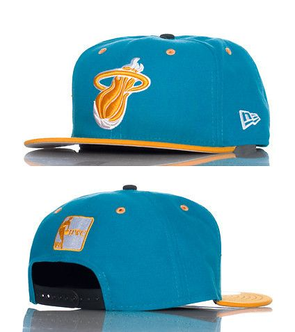 NEW+ERA+Basketball+snapback +cap+Adjustable+strap+on+back+of+hat+for+ultimate+comfort+Embroidered+Miami+Heat+team+logo+on+front+Jimmy+Jazz+Exclusive ad06b11b4