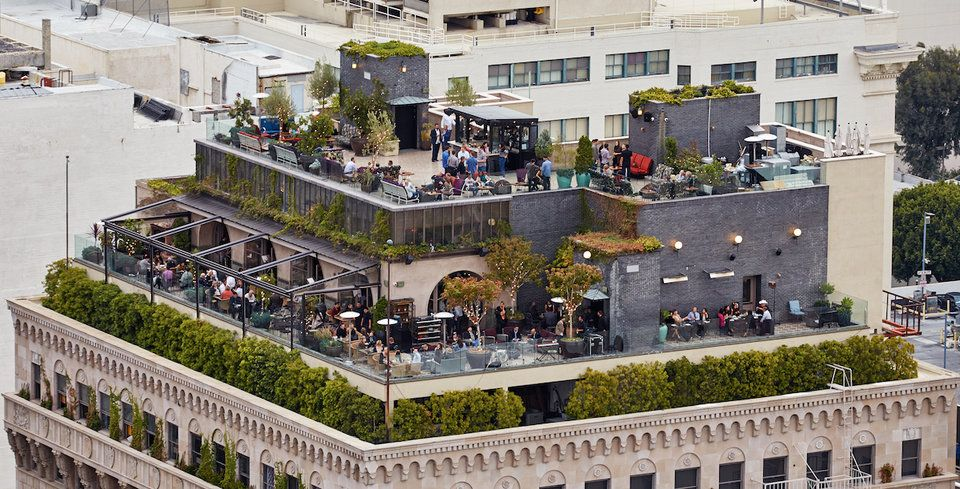 The 100 Most Scenic Restaurants In The Us With Images Rooftop Dining Best Rooftop Bars Los Angeles Restaurants