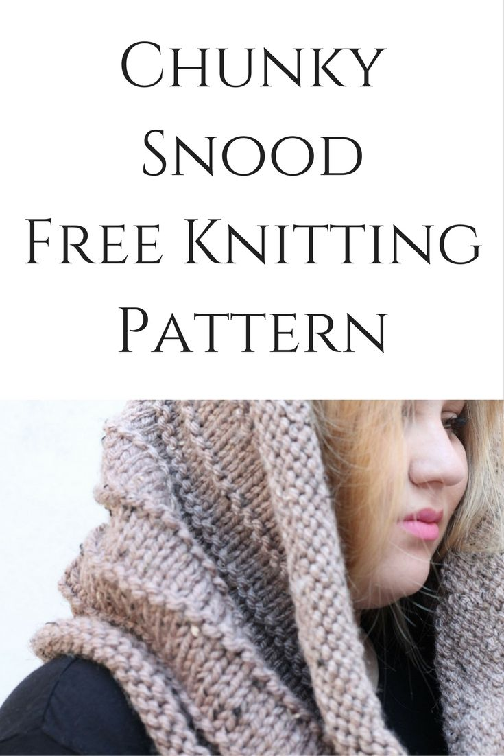Start a new knitting project with this free chunky snood knitting start a new knitting project with this free chunky snood knitting pattern great for beginners bankloansurffo Images