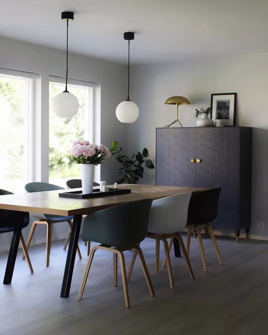 Get Inspired With These Fabulous Dining Rooms In Gray In 2021 Dining Room Design Grey Dining Room Dining