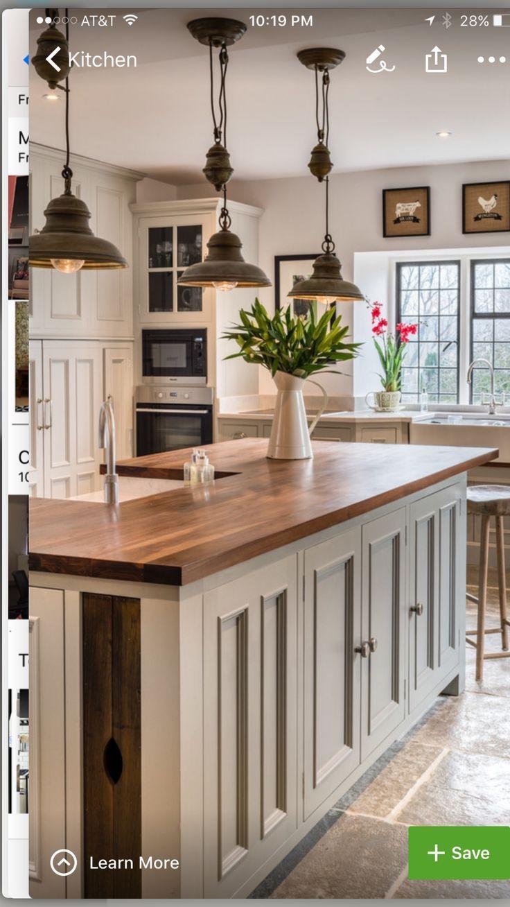 farmhouse style kitchen | Ideas for our next home | Pinterest ...