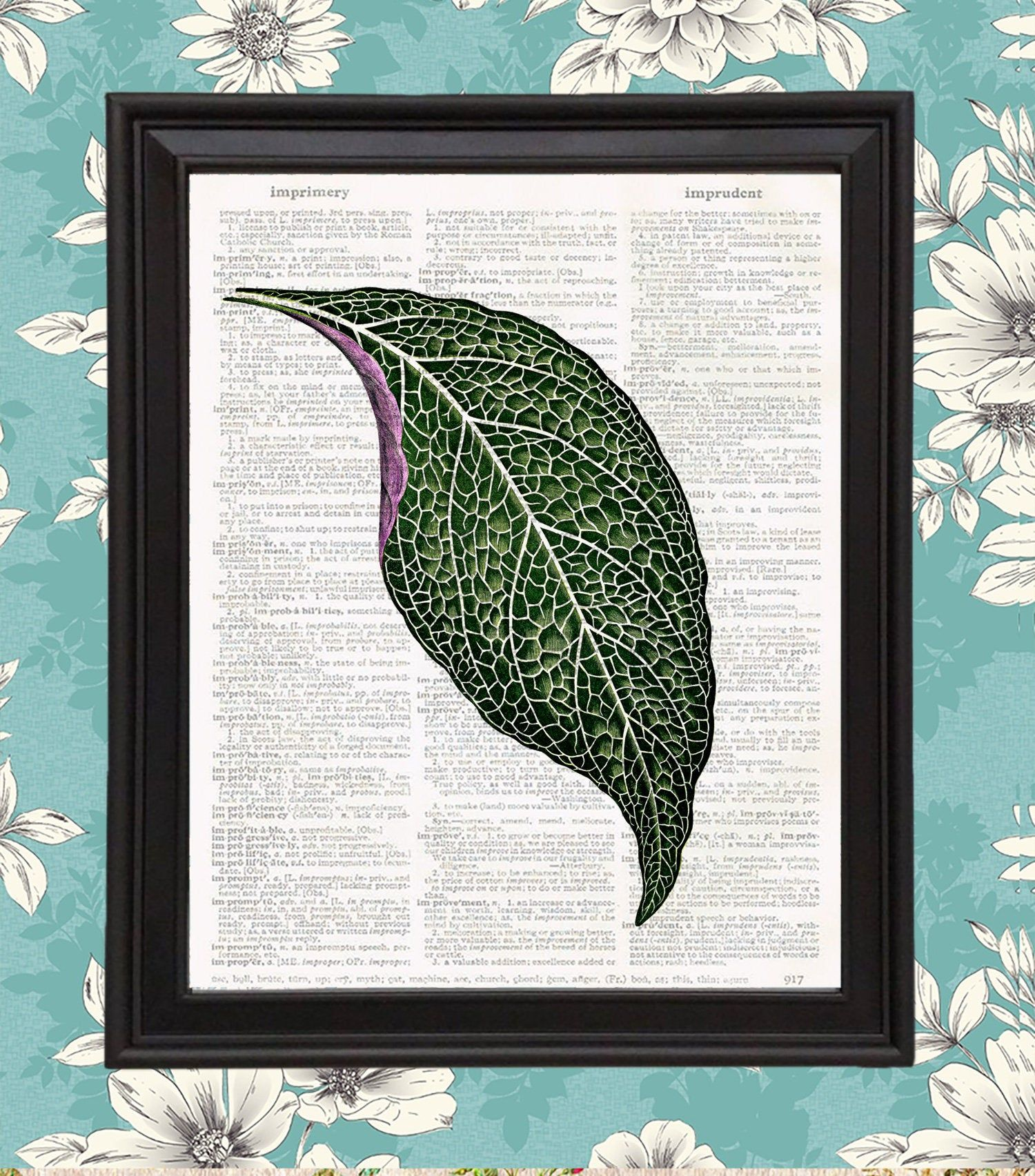 Botanical Print Nerve Plant
