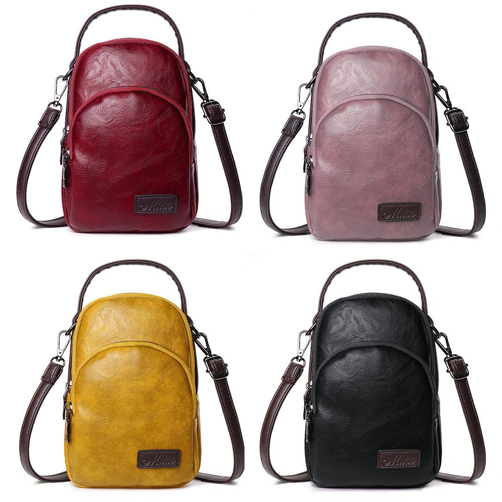 09fd6c63eac38 Hot-sale designer Women PU Leather Solid 8 Card Slot Card Bag Multi-slot  Phone Bags Leisure Crossbody Bags Online - NewChic Mobile