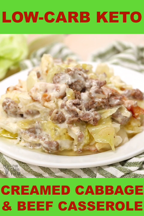 Creamed Cabbage & Beef Casserole images