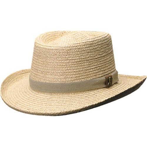 b0c124db2bf19 Scala 321OS Gambler Straw Hat with Golf Badge in 2019 | Products ...