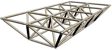 Triangulated Space Frame Space Frame Space Truss Truss Structure