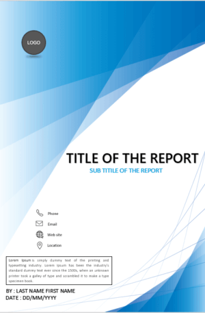 Cover Page Template In Word For Report Download Design Templates Cover Page Template Cover Page Template Word Book Cover Page