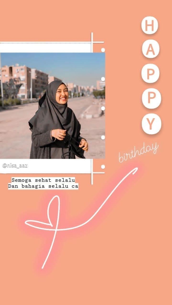 Story Idea Instagram Background Ulang Tahun Selamat Ulang Tahun Sahabat Pengeditan Foto