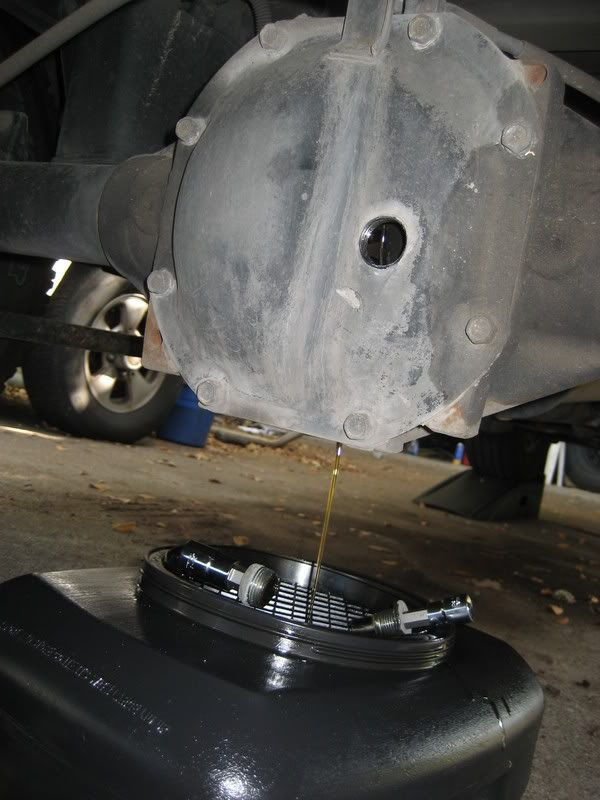 How To Change Front And Rear Differential Oil And The Transfer
