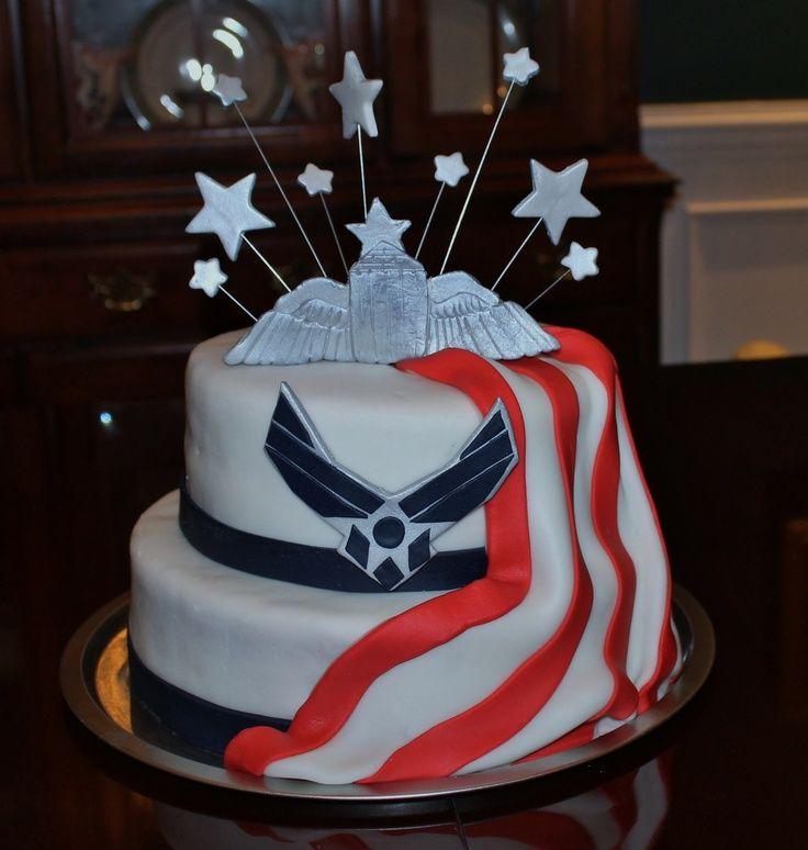 Air Force Wedding Ideas: Air Force Birthday Cake Cakepins.com