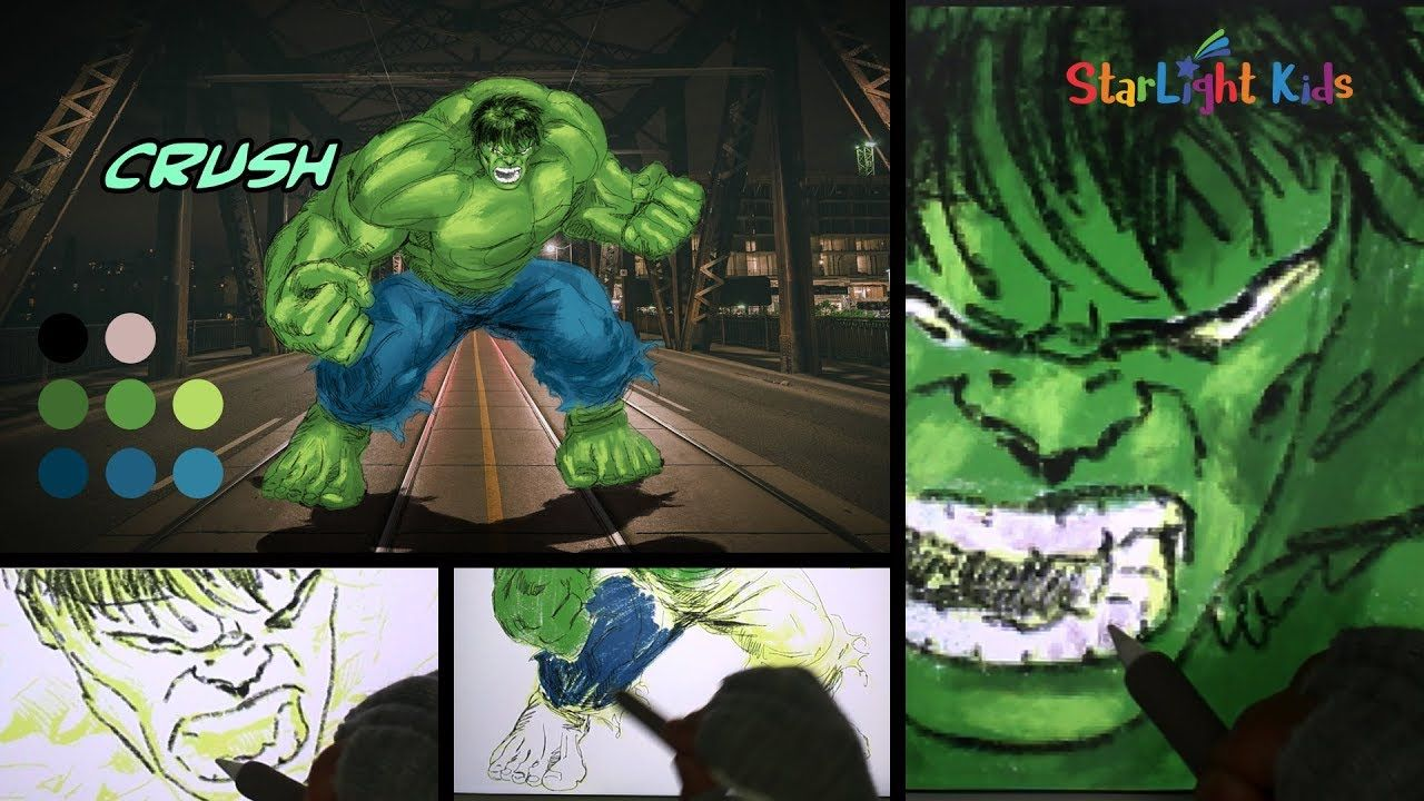 How To Draw Hulk Marvel Avengers Drawing Cool Drawing Coloring Co Cool Drawings Marvel Avengers Drawings