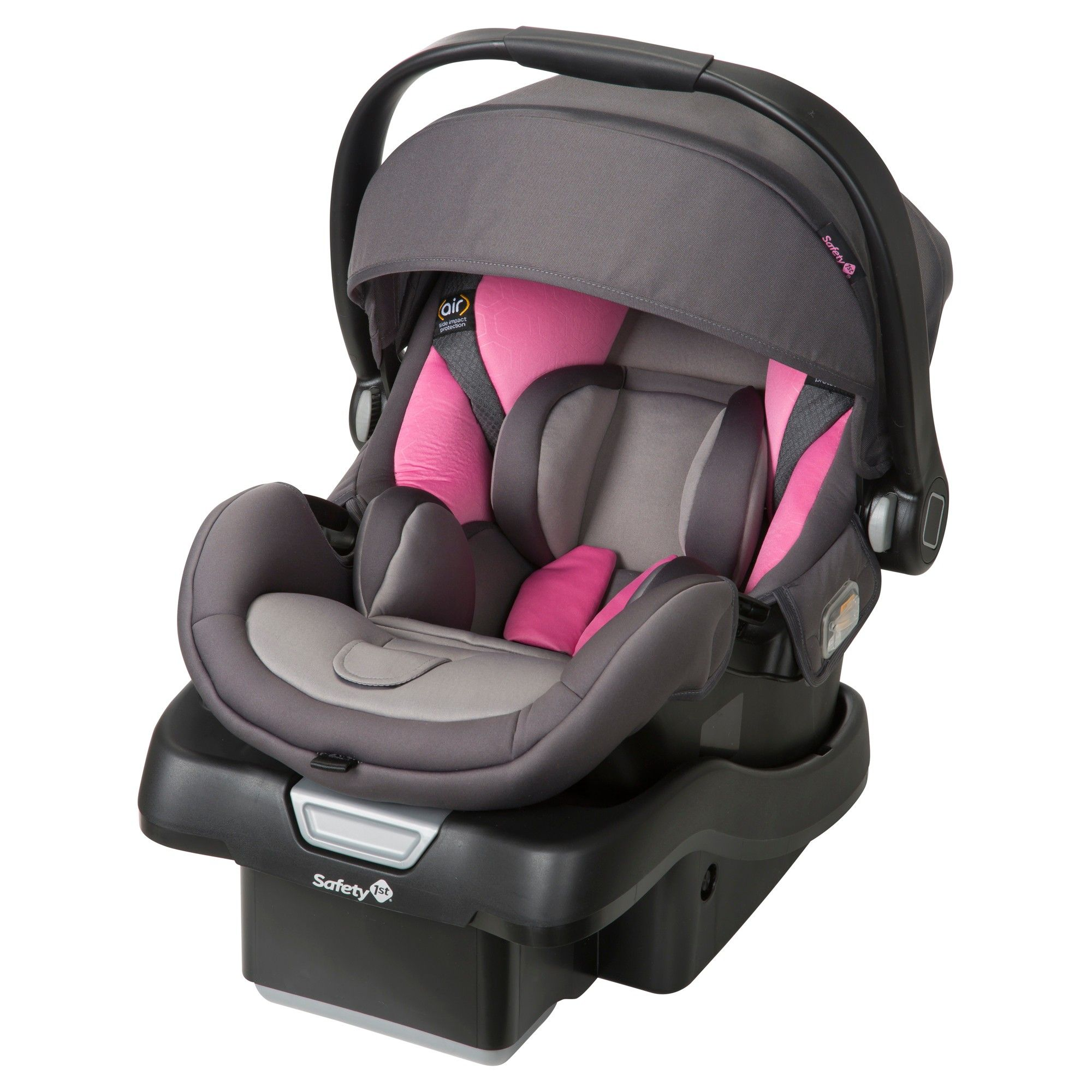 Safety 1st onBoard 35 Air 360 Infant Car Seat Blush Pink