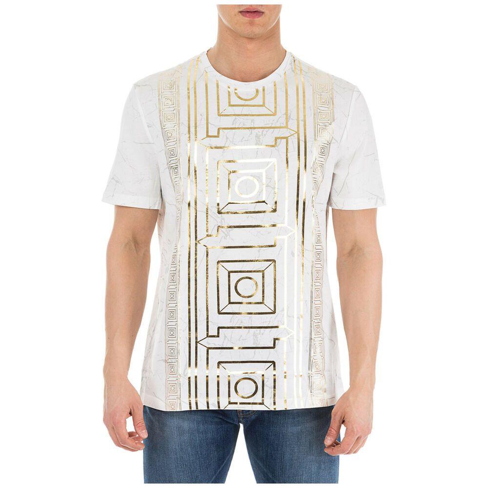 39a4559b eBay #Sponsored VERSACE COLLECTION MEN'S SHORT SLEEVE T-SHIRT CREW NECKLINE  JUMPER NEW WHITE 126