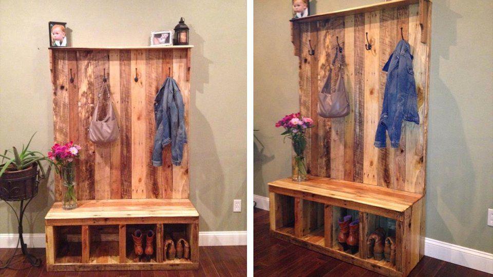 30 meubles faire avec des palettes pallets diy furniture and cosy - Meubles fait avec des palettes ...