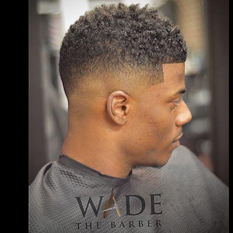 nice fade hair coiffure
