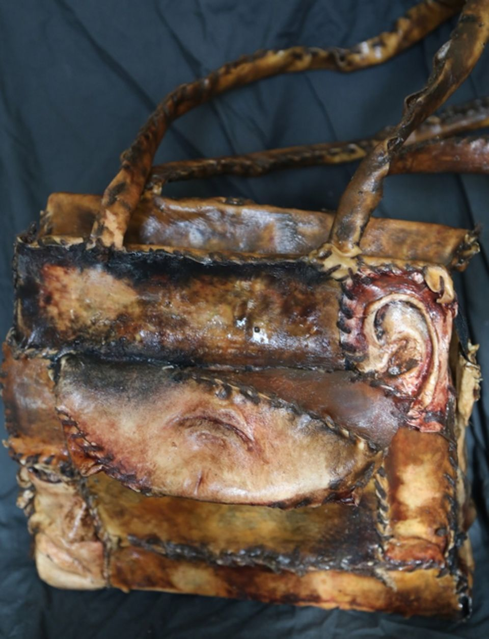 shocking human skin furniture inspired by ed gein can be yours