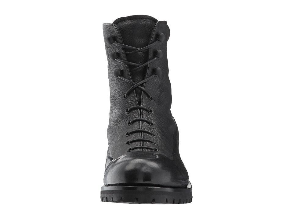 18e743051a Rupert Sanderson Sherwood Women's Lace-up Boots Black Wash Calf/Black Rubber