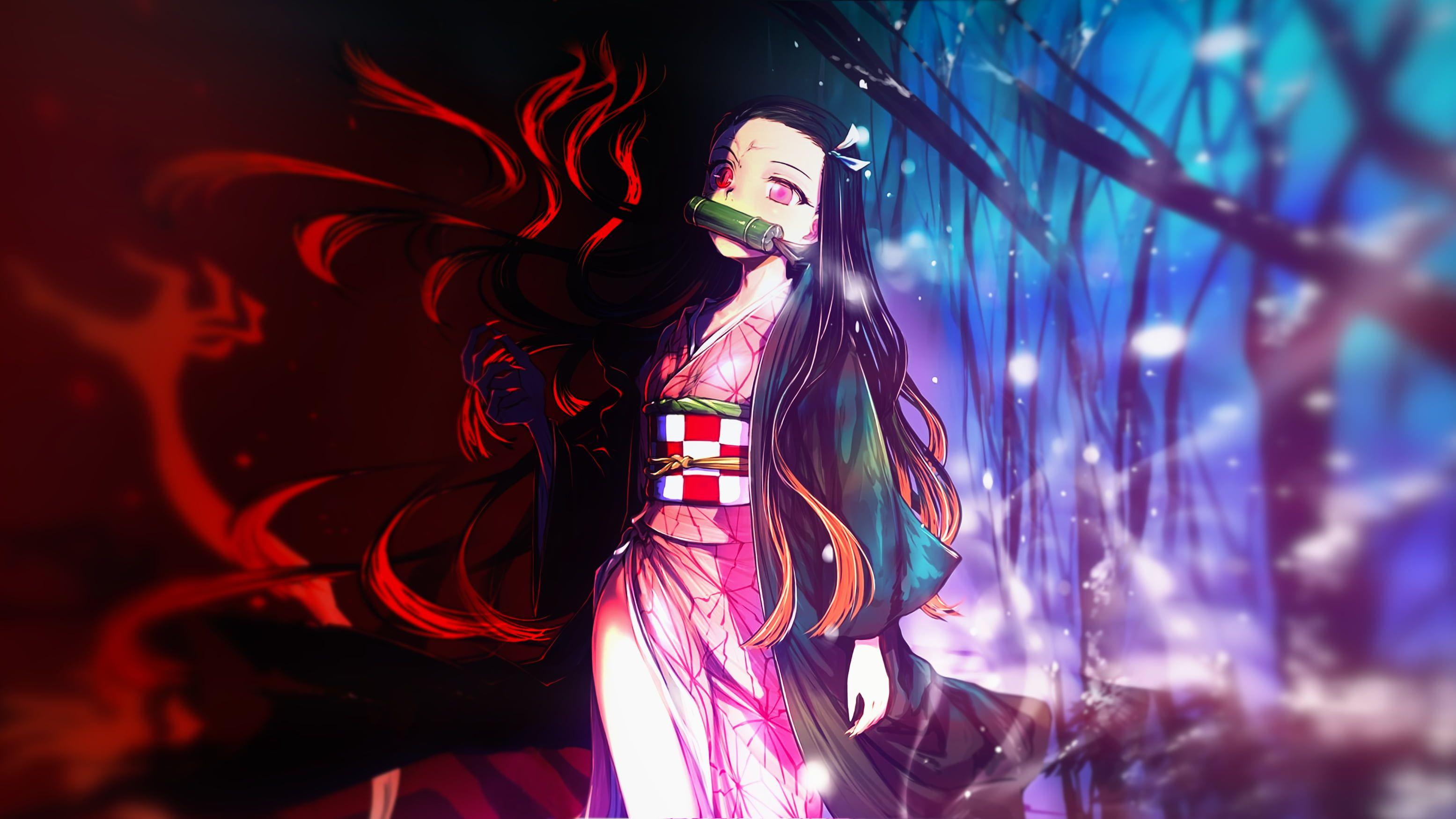 Anime Demon Slayer Kimetsu no Yaiba Nezuko Kamado 2K