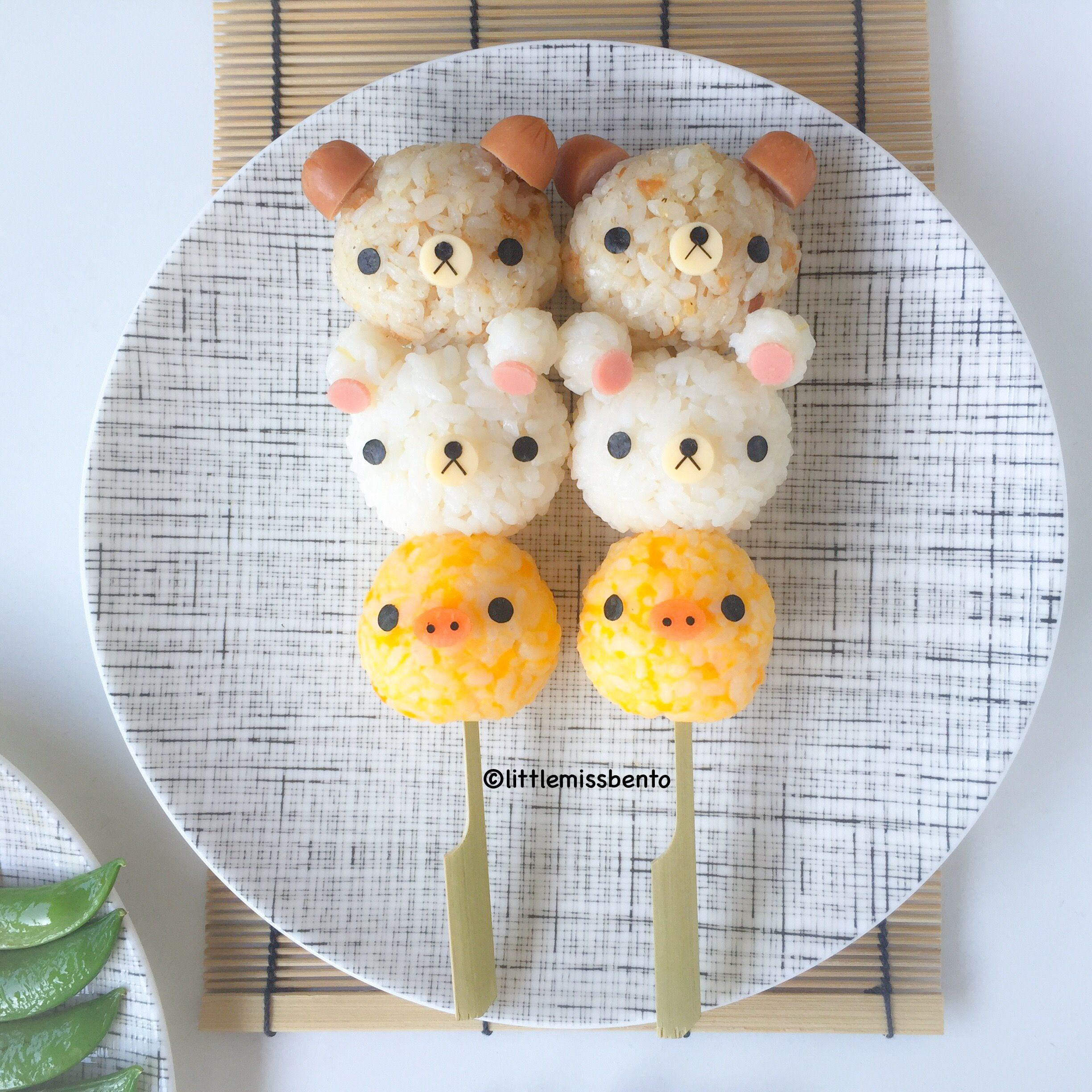 Rilakkuma yakitori foodart pinterest essen dekoration for Dekoration essen