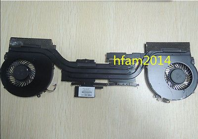 NEW for HP OMEN 15-5000 CPU Cooling Fan cooler with heatsink