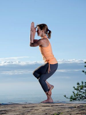 yoga for climbers  mountain eagle warrior 1 downward