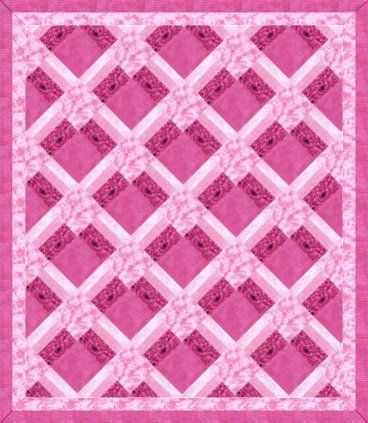 I'm going to make this someday and add borders to make it queen ... : pink quilt - Adamdwight.com