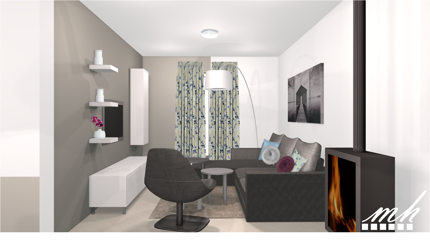 Stunning Salon Design Sol Gris Gallery - Amazing House Design ...